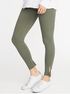b361f61f7d2d4 Tie-Ankle Leggings for Women