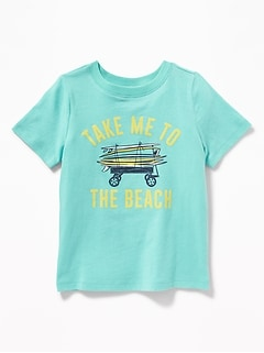 9ae667b1 Graphic Crew-Neck Tee for Toddler Boys