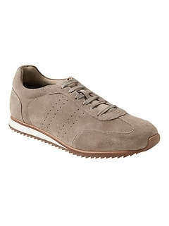 77b4881bf75d Thane Leather Trainer Sneaker