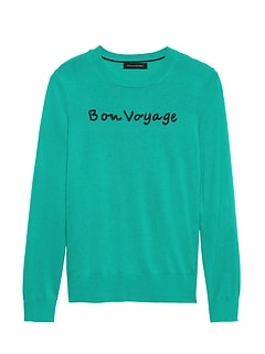 73a46ec28a Silk Cotton Embroidered Sweater
