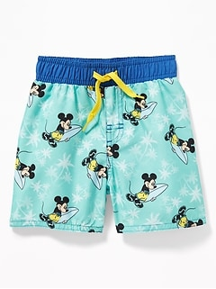 Disney  169 Mickey Mouse Swim Trunks for Toddler Boys 3774dbe7e6