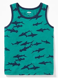 24289869e22fb7 Printed Tank for Toddler Boys