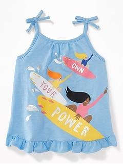 b04a86242 Ruffle-Hem Jersey Tank for Toddler Girls