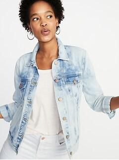 c060ce1f895 Tie-Dye Denim Jacket for Women
