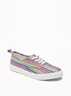 0a0ba967524a Printed Elastic-Lace Sneakers for Girls