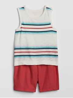 41e1213386f7 Baby 2-in-1 Shorty One-Piece