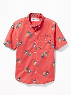 719a4d6b4f5 Boys' Long-Sleeve & Button Up Shirts | Old Navy