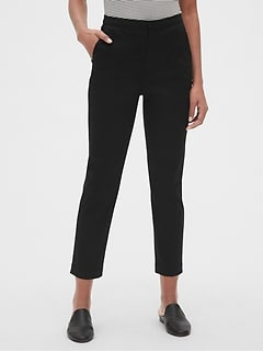 4d1e1520e5 High Rise Slim Crop Pants