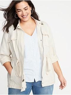 Women\'s Plus-Size Jackets, Coats & Outerwear | Old Navy