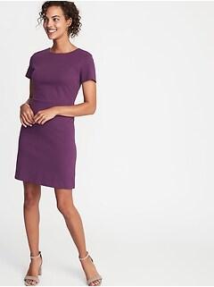5811a249926 Ponte-Knit Sheath Dress for Women