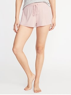 2c3e2681ff0b87 Jersey-Knit Lounge Shorts for Women - 2-inch inseam