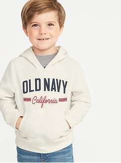 ec6a0fc49238 Logo-Graphic Pullover Hoodie for Toddler Boys
