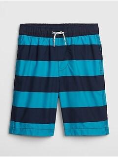e6ba7e6642 Kids Shark Swim Trunks