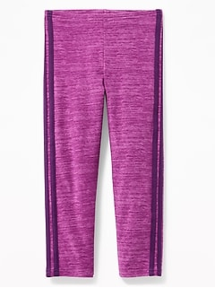 91964f64779a01 Cropped Built-In Tough Jersey Leggings for Girls