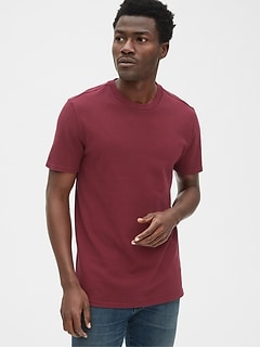 5dbbb030 Pique Crewneck T-Shirt
