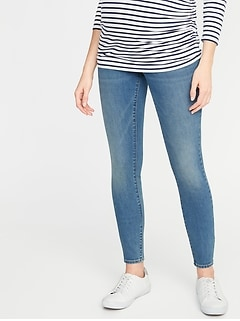 26010b4b375a7 Maternity Full-Panel Skinny Jeans