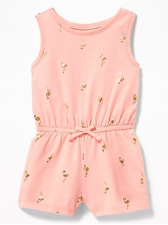 5f9beb662 Baby Girl One-Pieces & Rompers | Old Navy