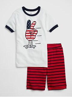 b704bbd72d Kids Americana Short PJ Set