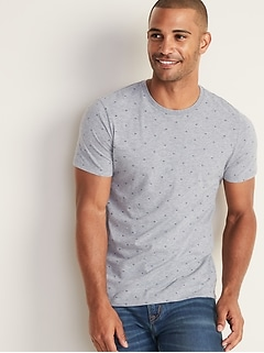 c1fb8ea9152d Tees. Soft-Washed Printed Tee for Men