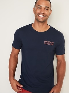 4b20105f Soft-Washed Graphic Tee for Men