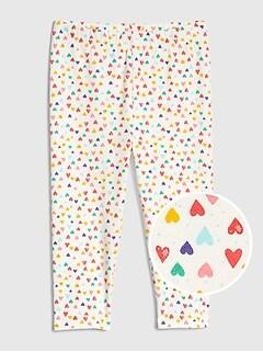 13a1e1979 Toddler Capri Leggings in Stretch Jersey