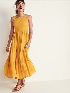 0038c2afb25d New to Dresses. Tiered Fit & Flare Maxi for Women