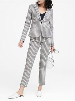 a91c99546f2 Classic-Fit Linen-Cotton Blazer