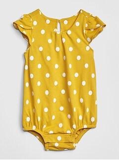 83a79caaf Baby Tulip-Sleeve Bodysuit