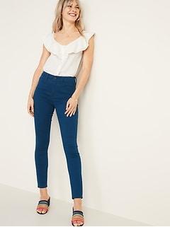 30ee4f618a High-Rise Secret-Slim Pockets Pop-Color Rockstar Super Skinny Jeans for  Women