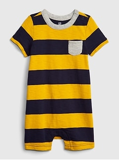 a6d8cd779 Baby Stripe Shorty One-Piece