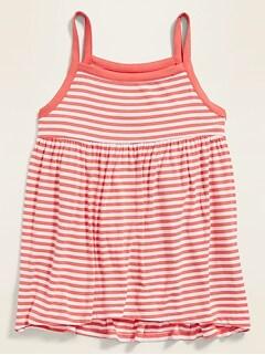 725ec4fc5af Patterned Jersey Babydoll Tank Dress for Girls