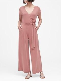 869adac0d51 tall dresses. Sandwash Modal Cropped Jumpsuit