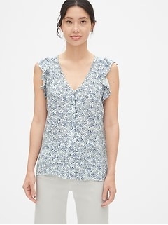 1ed48ba551a094 Women's Tops & Button Down Shirts | Gap