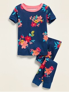 2095ae896 Floral-Print Sleep Set For Toddler Girls & Baby