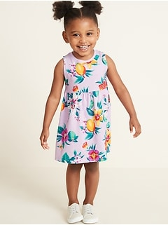 1a1e932174ffc Sleeveless Fit & Flare Dress for Toddler Girls