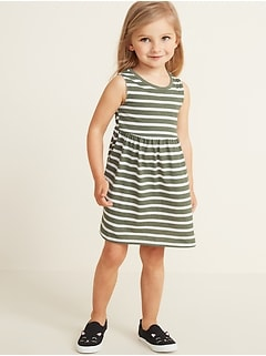 0be0ddfd5 Sleeveless Fit & Flare Dress for Toddler Girls