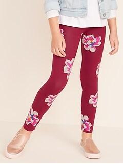 efa9676043 Full-Length Built-In Tough Jersey Leggings for Girls