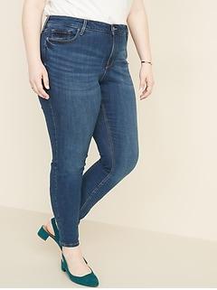 a156ca6f52a High-Rise Secret-Slim Pockets Plus-Size Distressed Rockstar Jeans
