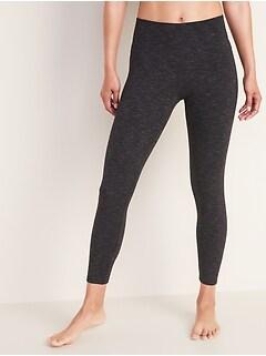 018640c1cdbe High-Rise Balance Heathered 7/8-Length Leggings for Women