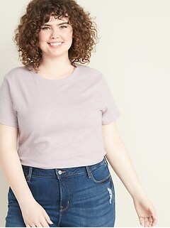 40406e66a359 Women's Plus-Size T-Shirts | Old Navy