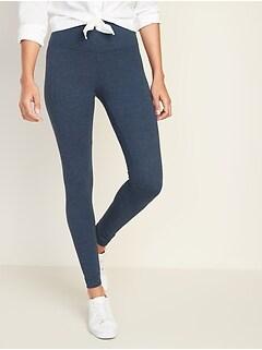 411c9fc51528f7 High-Rise Jersey Leggings for Women