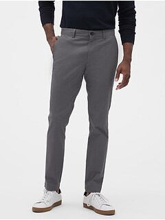 Deals on Banana Republic Factory Mens Fulton Skinny-Fit Stretch Chino