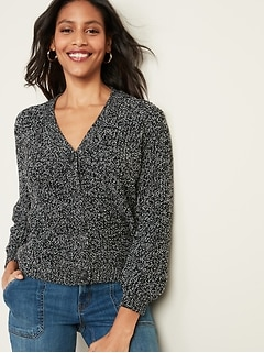 OLD NAVY ~ New NWT ~ Size XS S or M ~ Heather Grey ~ J ~ Inital Cotton Sweater