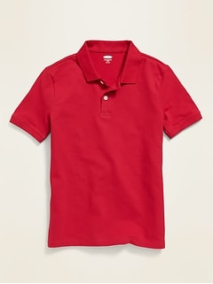 Oldnavy Stain-Resistant Built-In Flex Uniform Polo for Boys Hot Deal