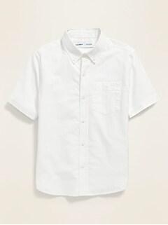 Oldnavy Uniform Oxford Stretch Shirt for Boys Hot Deal