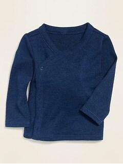 Oldnavy Unisex Cozy Plush-Knit Kimono Top for Baby Hot Deal