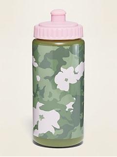 Oldnavy Plastic Squeeze Water Bottle for Girls