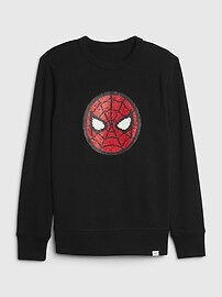 GapKids , Disney Assorted Graphic Crewneck Sweatshirt,light heather grey