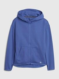 GapFit Kids Fit Tech Jacket,twinkle blue