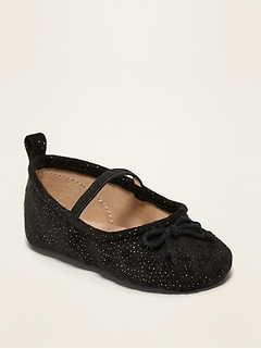Oldnavy Unisex Faux-Suede Flats for Baby